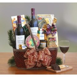 Nap Valley Charm Food Gift Basket