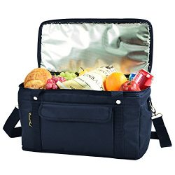 Picnic at Ascot Ultimate 24 -Quart Cooler- Combines Best Qualities of Hard & Soft Collapsibl ...