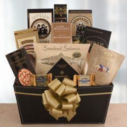 Santa's Elegance Holiday Gourmet Gift Basket