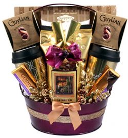 Gift Basket Village The Good Life, A Decadent, Indulgent Gourmet Sweets Gift Basket Like No Other,