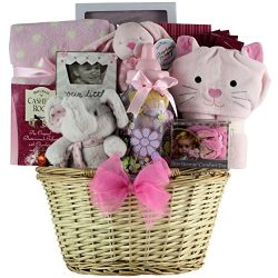 GreatArrivals Gift Baskets Chocolate and Cookies Gift Basket, Congratulations Baby!, 8 Pound