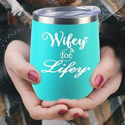 Valentine's Day Gifts For Wife Birthday Gifts Engagement Gifts Women Bridal Shower Wine Gl ...