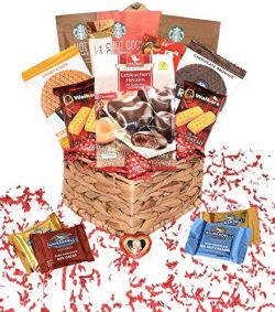 Valentines Day Care Package – Snacks, Chocolates, Candy Gift Basket – Assortment Var ...