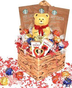 Valentine's Day Gift Basket – Snacks, Chocolates, Candy Gift Basket – Assortme ...