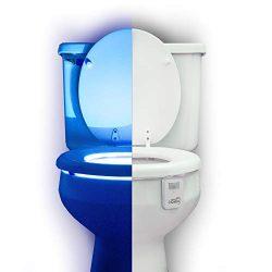 Mind-glowing 16 Color Motion Sensor Toilet Bowl Night Light – Funny Gag Birthday Gift Idea ...