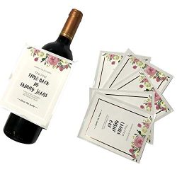 Waterproof Mommy First Milestone Label Stickers Set First Moment Decoration Tags Hot Stamp Rose  ...