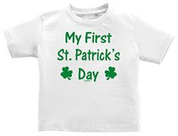 Funny Baby Gifts Funny Baby Shirts My First St Patricks Day Shamrock Cute Infant T-Shirt 18 Mont ...