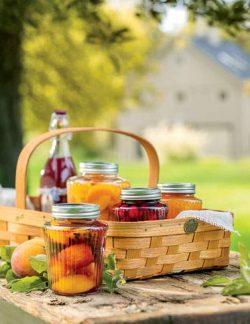 Harvest Berry Gathering Basket