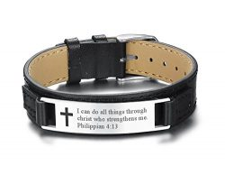 Mealguet Jewlery I can do All Things Through Christ who Strengthens me Philippian 4:13 Inspirati ...