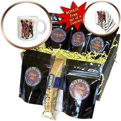 3dRose VintageChest – New Year – New Years Musiciants – Coffee Gift Baskets –  ...