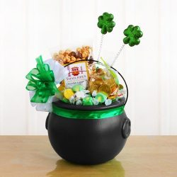 Pot O' Gold St. Patrick's Day Gift Basket
