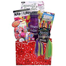 Beyond Bookmarks Girl Stuff – Valentine Gift Basket for Girls and Tweens!