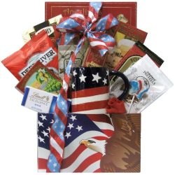 GreatArrivals Gift Baskets Enduring Freedom, Welcome Home Solider or Patriotic