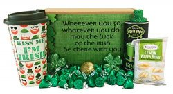 Irish Gifts | St Patricks Day Gifts | St Pattys Care Package | Coffee | Hot Cocoa |Tea | Kids, T ...