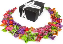 Warheads Smashups! Extreme Sour Candy, 1 lb Bag in a BlackTie Box