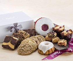 Dulcet's Elegant Gift Box Filled with an Assortment of Delectable Pastries. Charmingly Packaged  ...