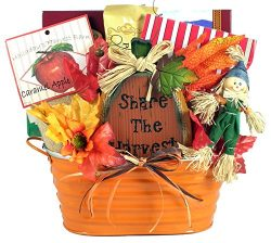 Pumpkin Festival Gourmet Fall or Halloween Gift Basket