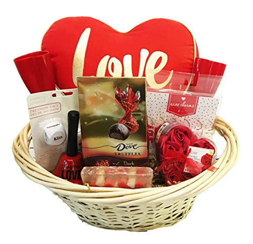 Date Night Gifts Basket – Gift Basket for Couples Valentines, Anniversary, Special Day, An ...