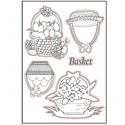Wodwad DIY Silicone Clear Rubber Stamp Sheet Scrapbooking Album Photo DIY Christmas Valentine ...
