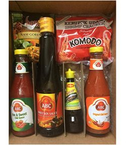 ABC Sauce Bundle with Komodo Shrimp Crackers, Bamboe Nasi Goreng Mix and Maggi Savor Calamansi