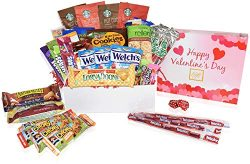 Care Packages for College Students (37 Count) – Snacks, Chocolates, Candy Gift Box for Val ...
