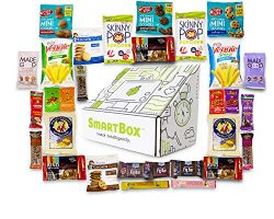 SmartBox Express, Natural And Organic Snacks Care Package Gift Box (30 pack)