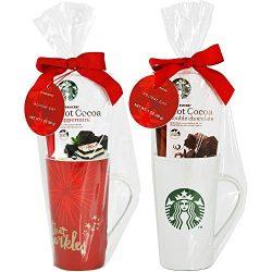 Starbucks Tall Mug with Hot Cocoa Gift Set (Set of 1 mug)