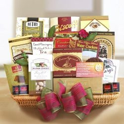 Heartfelt Sympathy Gourmet Gift Basket | Sympathy Gift Basket for that Special Occasion | Organi ...