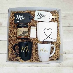 Mr Mrs Wedding Gift Box Unique Wedding Gift Engagement Gift for Couple Gift Box for Couple Holid ...