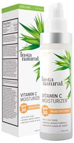 Vitamin C Moisturizer With SPF 30 – Daily Sun Protection For Men & Women – Anti  ...