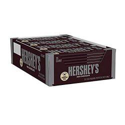 HERSHEY'S Milk Chocolate Candy Bars, 1.55-oz. Bars, 36 Count