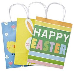 Hallmark Medium Gift Bags Assortment, Happy Easter (Pack of 3)