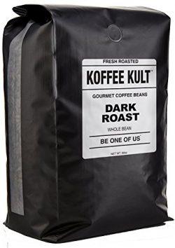 Koffee Kult DARK ROAST COFFEE BEANS (Whole Bean 5 Lbs) – Highest Quality Specialty Grade W ...