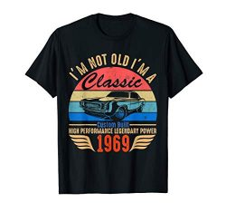 Classic 1969 shirt 50th Birthday Gift Ideas for Men Women