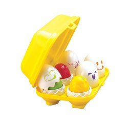 TOMY  Toomies Hide & Squeak Eggs | Encourages Fine Motor Skills | Matching Toy Fun for Toddl ...