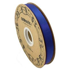 Royal Blue Satin Fabric Ribbon – 5/8″ x 100 Yards, Hanukkah Holiday Decor, Garland,  ...