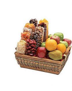 Goodies From Goodman – Fruit & Nut Sampler – Gift Basket – Free Standard S ...
