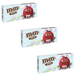 M&MS Easter Milk Chocolate Candy 3.1-Ounce Box pack of 3