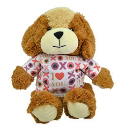 Limited Edition XOXO 11″ Plush Cute Dog Best Romantic Gift for Lovers, Proposal, Anniversa ...