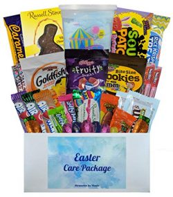 Easter Basket Care Package for College Students, Men, Women or Kids – Includes Easter Gras ...