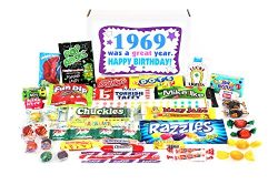 Woodstock Candy ~ 1969 50th Birthday Gift Box Nostalgic Retro Candy Assortment from Childhood fo ...