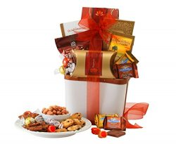Broadway Basketeers Chocolate & Snack Gift Basket