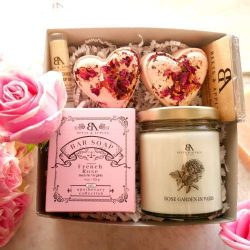 Relaxation Spa Gift Set – Birthday Gifts for her gift basket – Birthday Gift Basket  ...