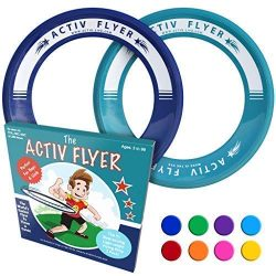 Activ Life Best Kid's Flying Rings [Navy/Teal] 2 Pack – Best for Grandson & Gran ...