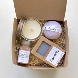 Natural Spa Box Set for Women Birthday Mother's Day Gift Box Bridesmaid Bride