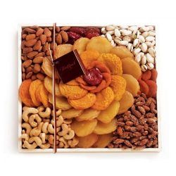 Torn Ranch Rose California Dried Fruits and Nuts Gift Basket by Torn Ranch