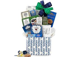 Luck O' The Irish Coffee, Tea, Ghirardelli and Cocoa Gift Basket For St. Patrick's D ...