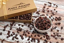 Andy Anand's California Chocolate covered Raisins 1 LB, for Birthday, Valentine Day, Gourmet Chr ...