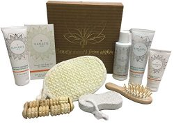 Valentine's Special! Luxury Vegan Skin Care Collection Home Spa Bath and Body Natural Grap ...
