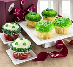 St. Patricks Day Cupcake Gift Box